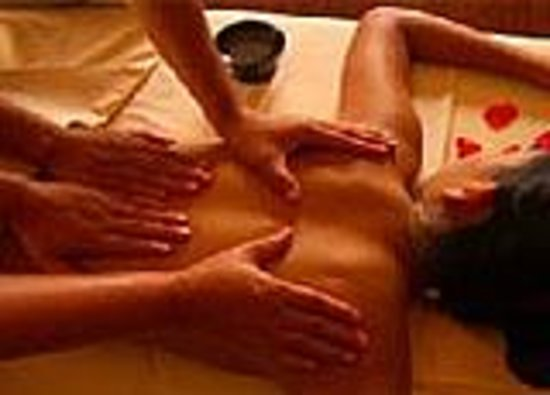 Male to female body massage video