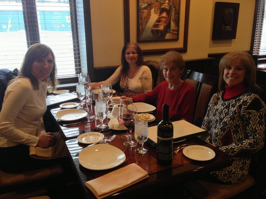 Napa Grille and Wine Den : Part of my family at Napa Grill and wine den