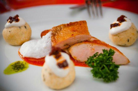 Hotel Aqua Eger: Meal