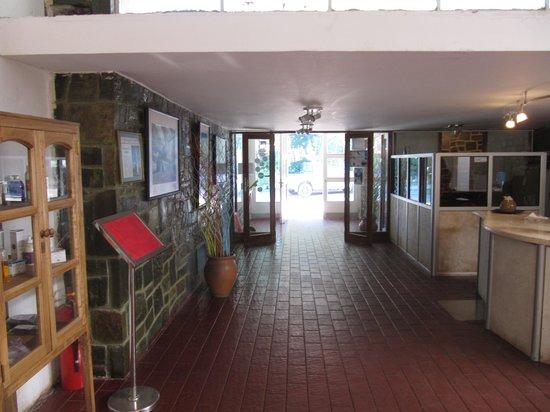 Hotel Termas Pismanta & Spa:                   La réception