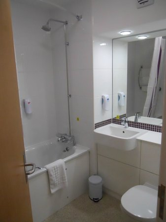 Premier Inn Glastonbury Hotel:                   Exactly what you think it is