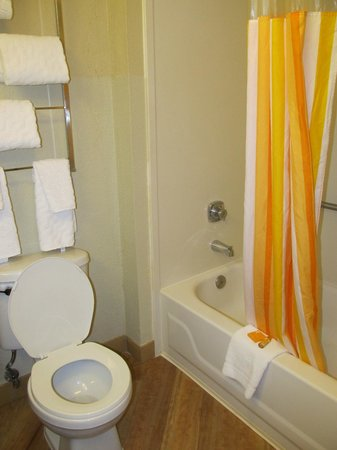 La Quinta Inn & Suites Raleigh Crabtree: The bathroom