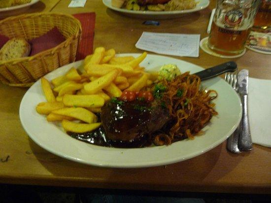 DAMPFE - das Borbecker Brauhaus:                   steak
