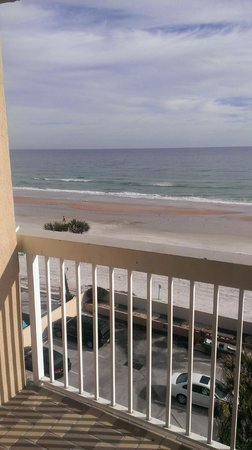 Holiday Inn & Suites Daytona Beach on the Ocean:                   view from the balcony