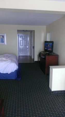Holiday Inn Hotel & Suites Daytona Beach:                   the room