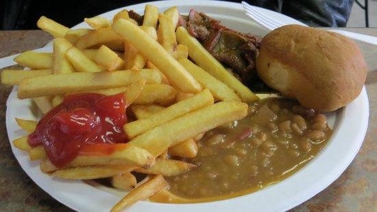 Hoggs Gourmet Grill:                   Tri-tip