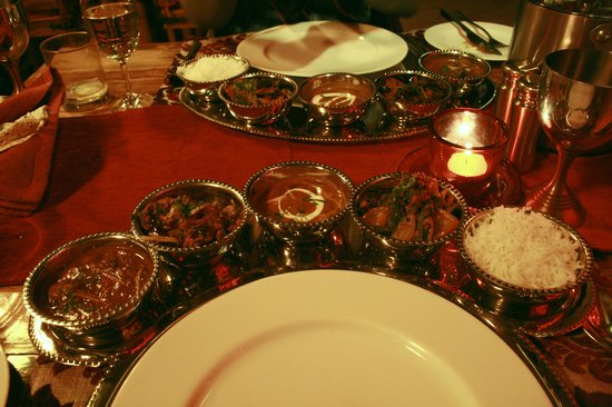 شانتي هوم:                   one of chef Ardil's wonderful meals                 