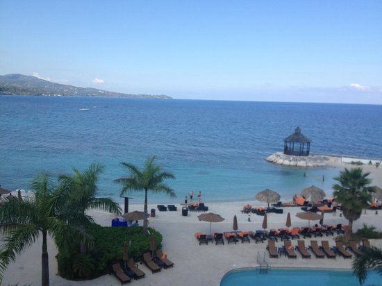 Secrets Wild Orchid Montego Bay:                                                                         View from room 1414