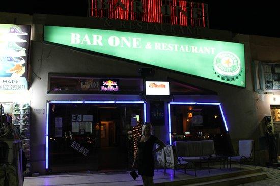 Bar1 :                                     Outside Bar 1