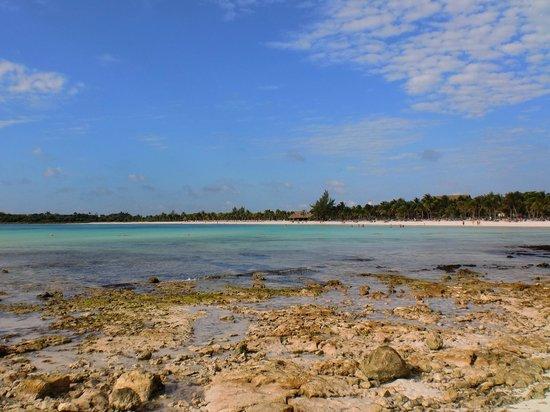 Barcelo Maya Caribe: la spiaggia vista dal Palace