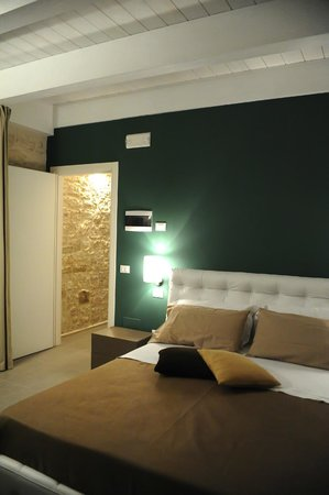 B&B Agora: particolare camera da letto