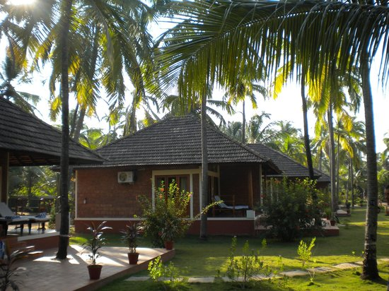 The Nattika Beach Resort:                   les bungalows