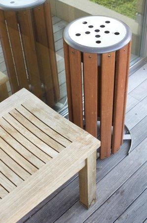 Hotel Niwa Tokyo:                                     庭院