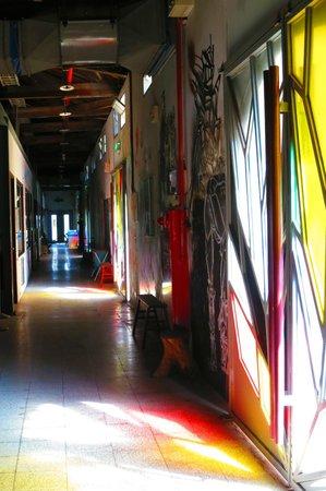 Hsin Chu City Art Site of Railway Warehouse :                   Corridor