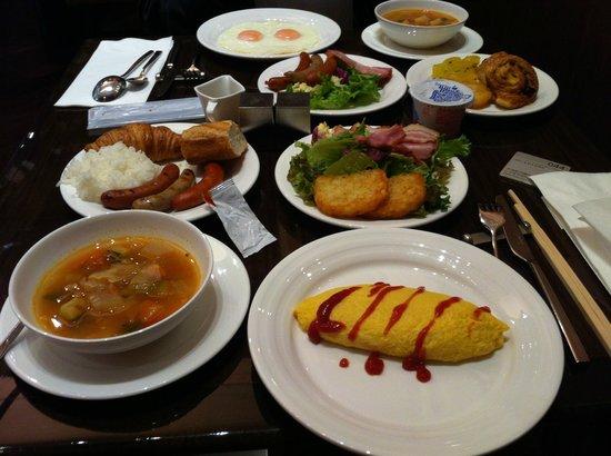 Hotel Niwa Tokyo:                                     早餐