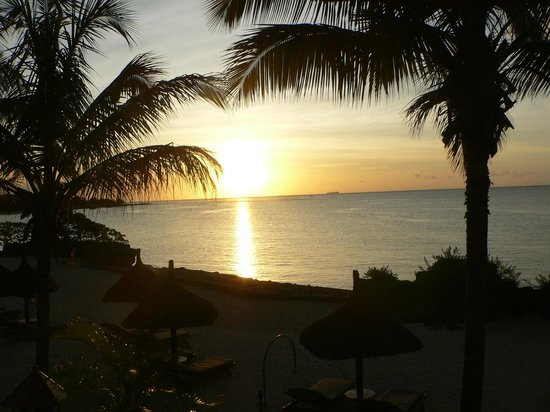 Maritim Resort & Spa Mauritius:                   Sunset from Bar