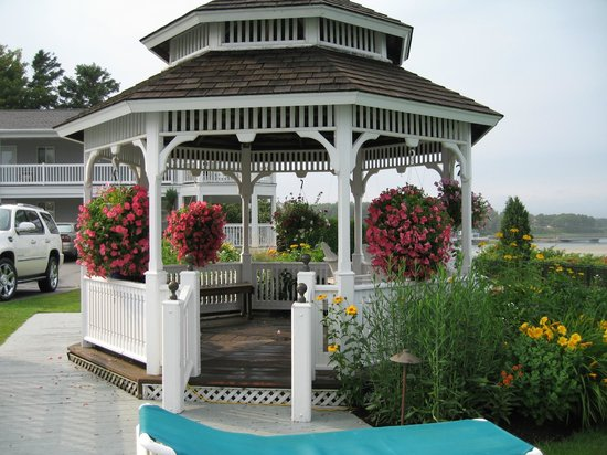 The Anchorage By the Sea:                   gazebo