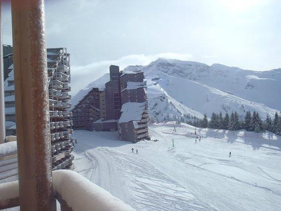 Apartamentos Pierre & Vacances Premium L'Amara:                   vue de notre balcon