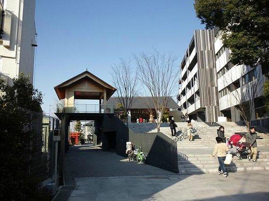 Akagi Shrine:                   隣のマンション