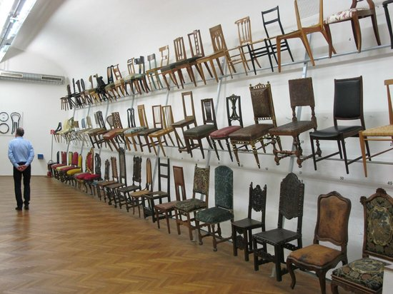 MAK - Austrian Museum of Applied Arts / Contemporary Art :                   Take a seat!