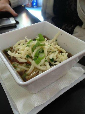 Delisheee Yo:                   French Onion Soup