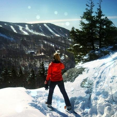 The Vermont Inn:                   Beautiful snowshoe