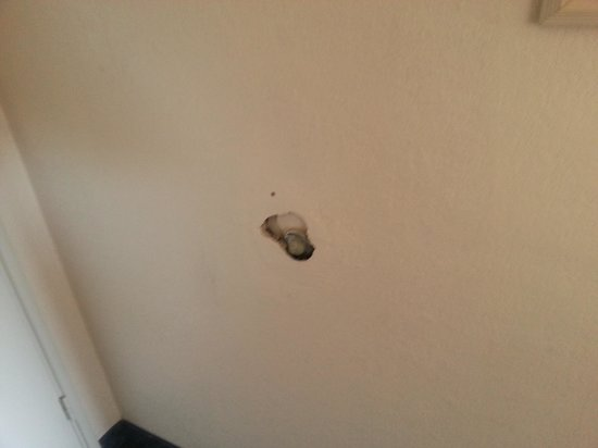 Travelodge Orlando Downtown Centroplex:                                     Holes in the wall