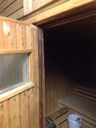 Hotel Braunschweiger Hof:                   Sauna mit allem Drum und Dran