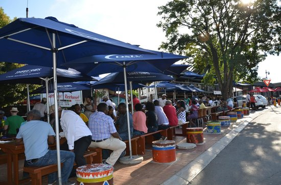 Sakhumzi Restaurant:                   Feel the Soweto vibe here