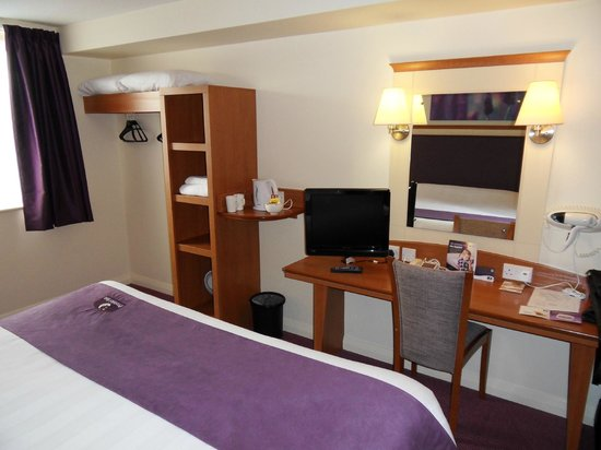 Premier Inn Norwich City Centre (Duke Street) Hotel:                   Room 312
