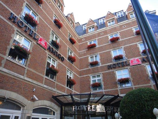 Hotel Amigo:                   the hotel