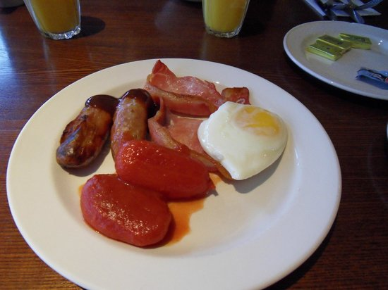 Premier Inn Norwich City Centre (Duke Street) Hotel:                   Buffet breakfast