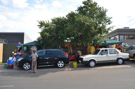 South Western Townships:                   The car wash on Vilakazi Street
