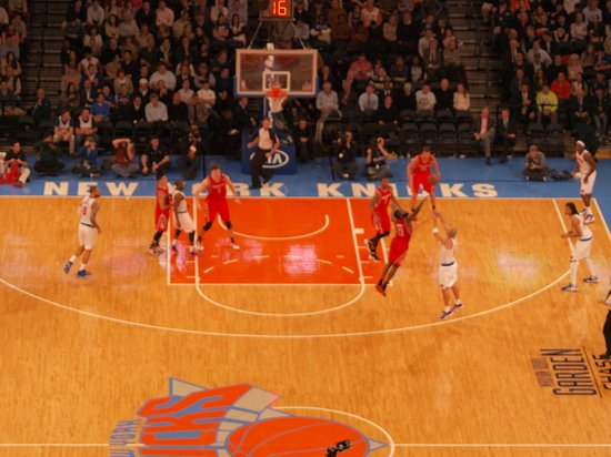 Langham Place, Fifth Avenue: Knicks game