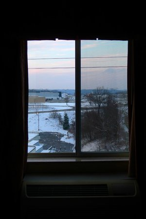 Hampton Inn Pittsburgh Area-Beaver Valley-Ctr Township: View from 417