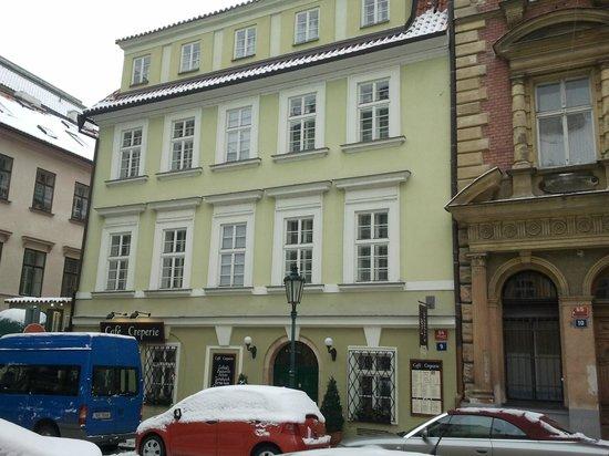Hotel Pod Vezi:                                     L'annexe de l'hôtel