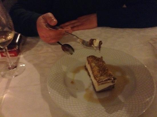 O Arco:                   E este gelado caseiro maravilhoso...