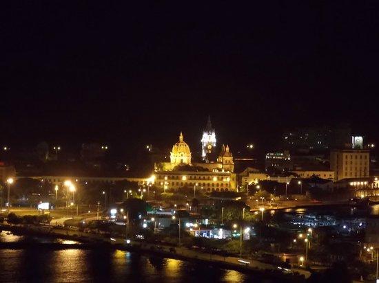 Decameron Cartagena: Vista desde el restaurante de pescados y mariscos