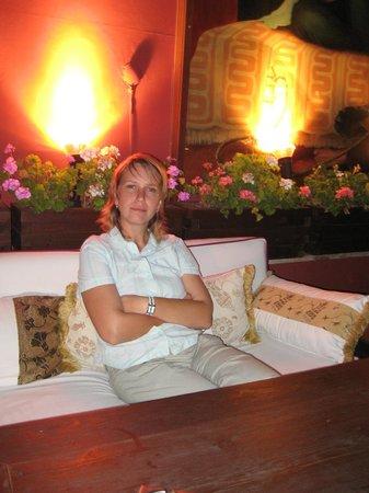 Hotel Sebnem:                   Терраса