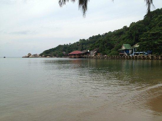 Sunshine Beach Resort:                   Beach at the resort