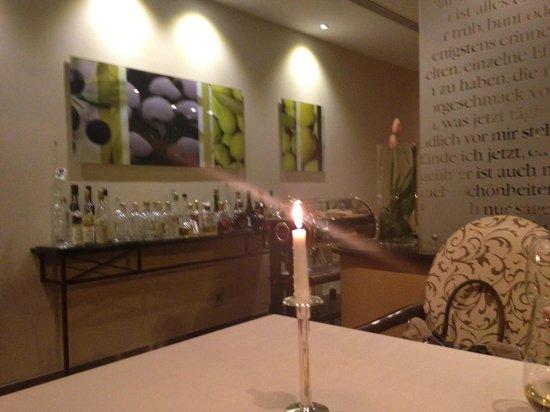 OLIVO - Gourmetrestaurant:                                     Ambiente