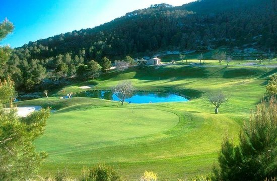 Camp De Mar, Spain:                   Vista del green #9