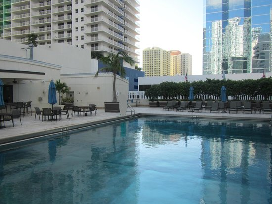 JW Marriott Miami:                   Gym and Pool