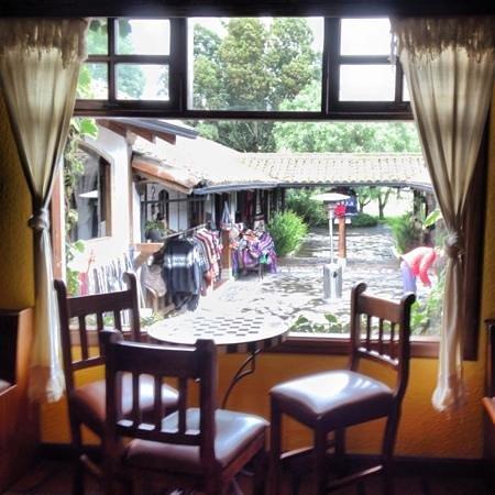 Hacienda Abraspungo:                   restaurant