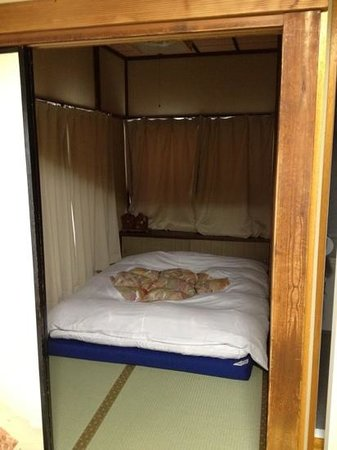 Ryokan Katsutaro:                   twin room- 2nd bed with its own room