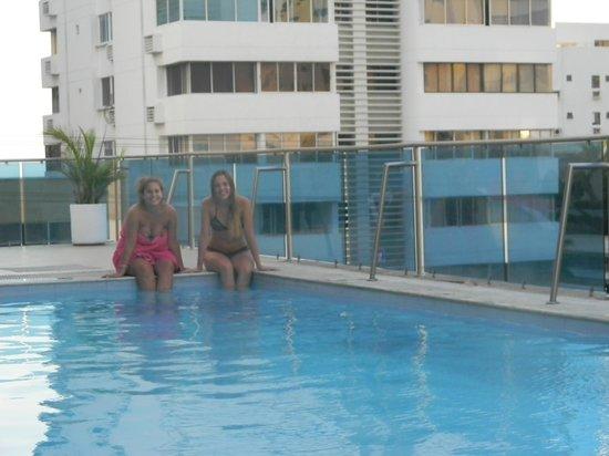 Atlantic Lux Hotel: Pileta ubicada en el 3 piso