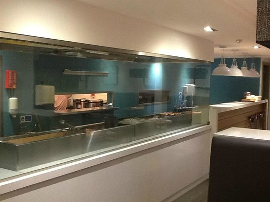 Havet Restaurant: Our open kitchens