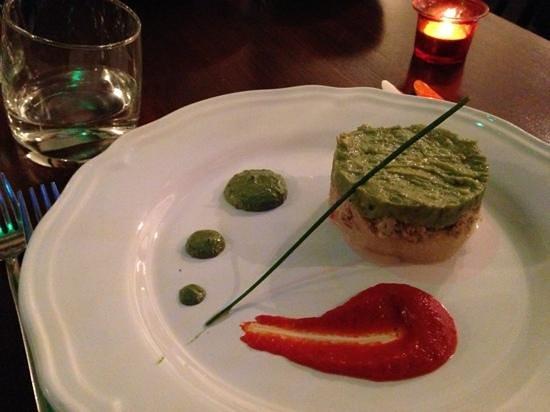 Restaurant Le M : Délice de tourteau avocat et pamplemousse
