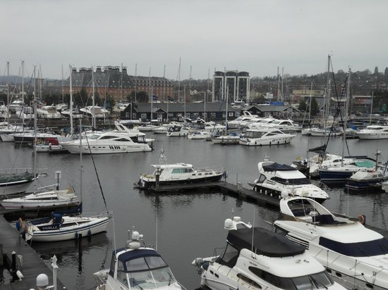 Salthouse Harbour Hotel: View from room 310