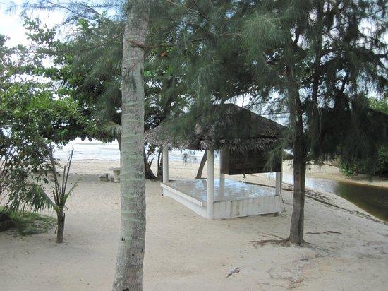 Am Samui Resort:                   View from A19 terrace